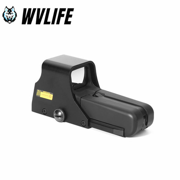 WVLIFE HD552 Type Scope Collimator Holographic Red/Green Reflex Dot Sight Scope with 0.78in/20mm Rail Mounts Rifle Hunting Accessories