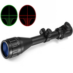WVLIFE 4-16X40 Riflescope Optical Sight Gold Tactical Red Green llluminate Crosshair Hunting Air Rifle Sniper Scope