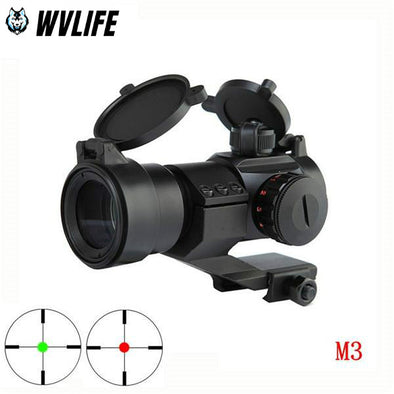 WVLIFE Aim AT M3 Optical Sight Red Green Dot Hunting Scope Sight