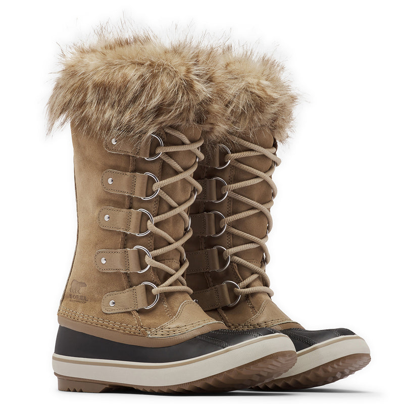 Womens Sorel Joan Of Arctic Waterproof Warm Faux Fur Cuff Winter Boots