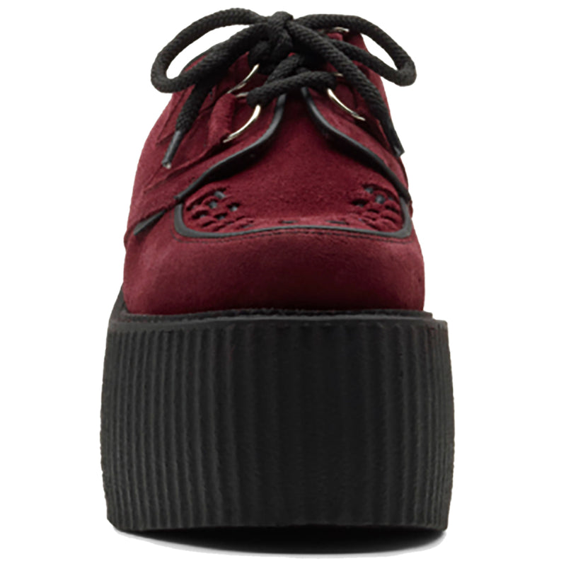 Undergound Wulfrun Original Triple Sole feature smooth suede uppers, soft breathable textile lining, rubber ribbed outsole unit, twin d-ring eyelet lace up closure, contrasting trims and apron patterns with three rows on interlacing on the vamp.