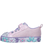 Kids Girls Infants Skechers Twinle Toes Daisy