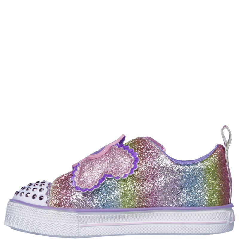 Kids Girls Infants Skechers Twinkle Toes Shuffles