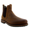 Barbour Cullercoats Leather Elastic