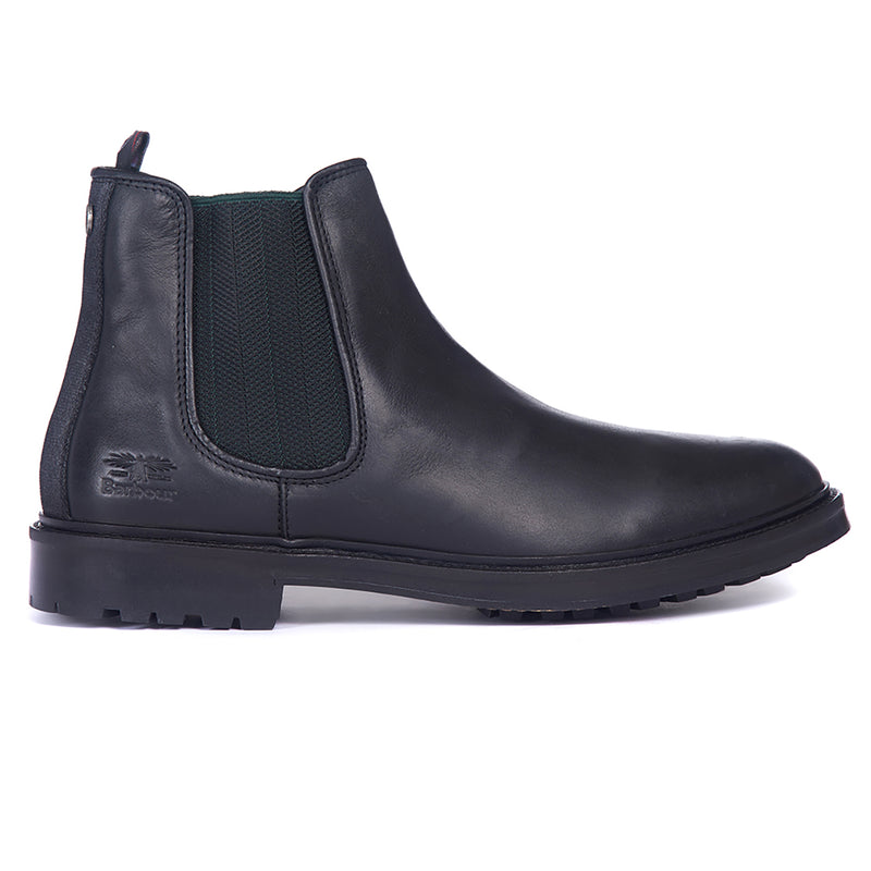 Mens Barbour Wansbeck Chelsea Leather Walking Work Smart comfort Ankle Boots