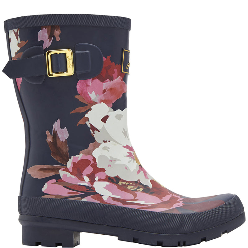 Joules Molly Short Printed Wellies
