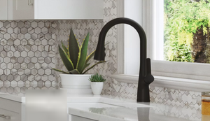 PFISTER - Neera 1-Handle Pull-Down Kitchen Faucet- Matte Black