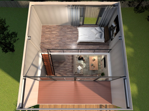 Modular Home - SAB3 - Double Deck Prefab House , 796.53 Sqf
