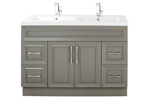 "CUTLER - VANITY - 48"" GREY"