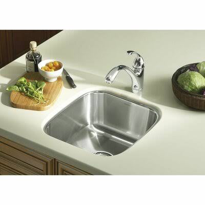 STERLING - KITCHEN SINK - 16 Inch Overall Height, 17-1/2 Inch Overall Width, 8 Inch Overall Depth