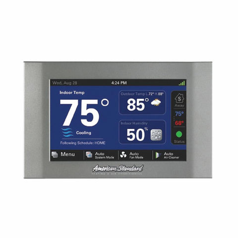 American Standard® ACONT824AS52DA Gold Comfort Control Thermostat, 2 Heat, 2 Cool Stages, 24 VAC