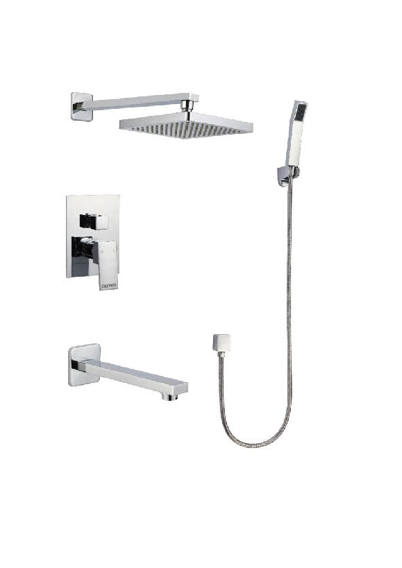 Crown Three-way Control Shower