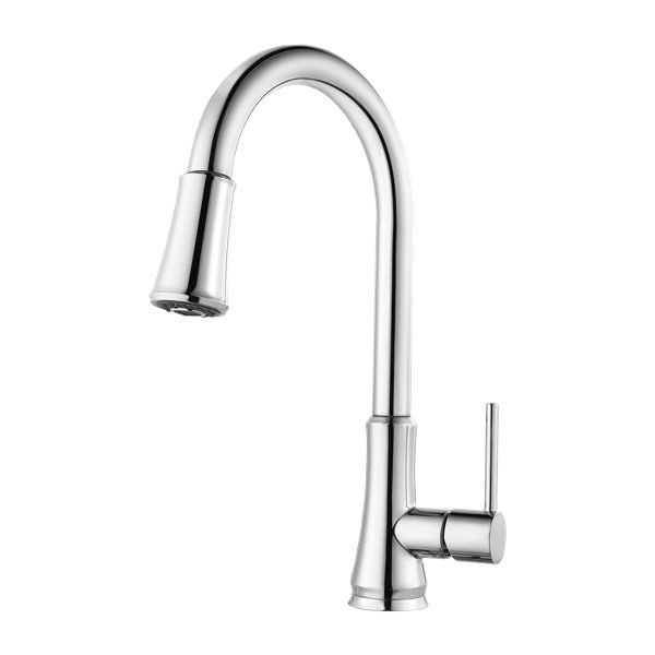 PFISTER, ONE HANDLE PULL DOWN KITCHEN FAUCET