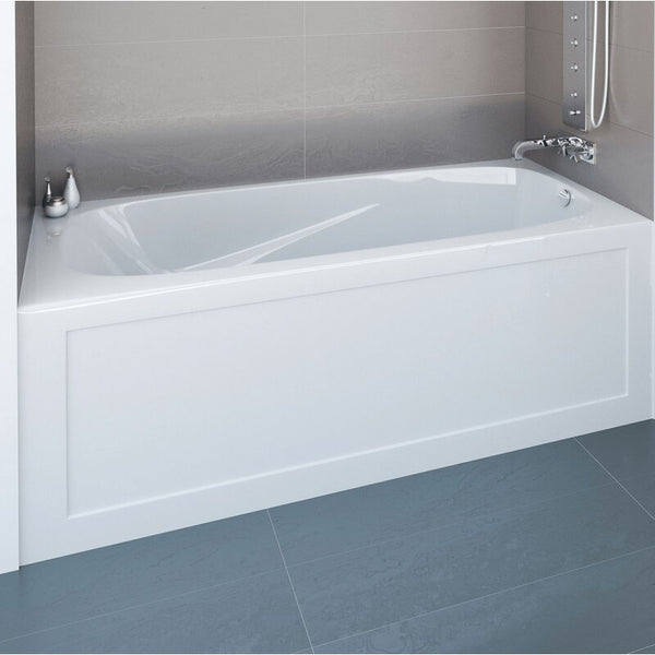"MIROLIN - BATHTUB - Phoenix 60"" x 30"" Alcove Soaking Bathtub"