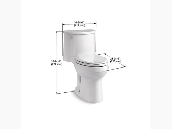 Kohler-Adair, Comfort Height, One-piece