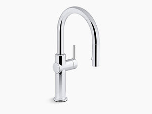 KOHLER- Touchless Kitchen faucet with voice-activated technology