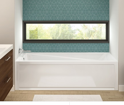 MAAX , Exhibit 6030 AFR Bath Tub With Skirted, 60x30