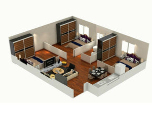 Modular Home, PF2, 3 Bedrooms