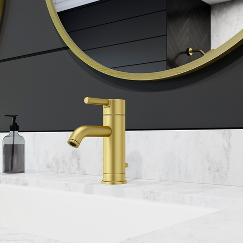 Pfister - Contempra Single Control Bathroom Faucet- Brushed Gold