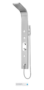 TENZO - Shower Evolo , 3 fct brushed stainless