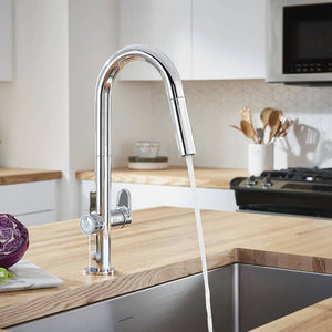 AMERICAN-STANDARD- KITCHEN FAUCET- TOUCH PULL DOWN