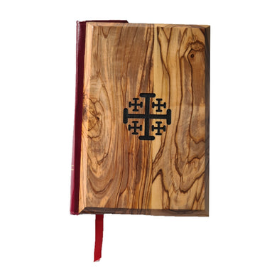 Olive wood bible made in Bethlehem