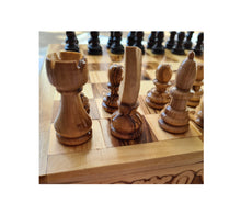 Load image into Gallery viewer, Large Folding Chess Set