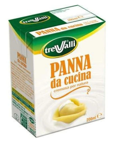 Cooking cream - Panna da cucina UHT