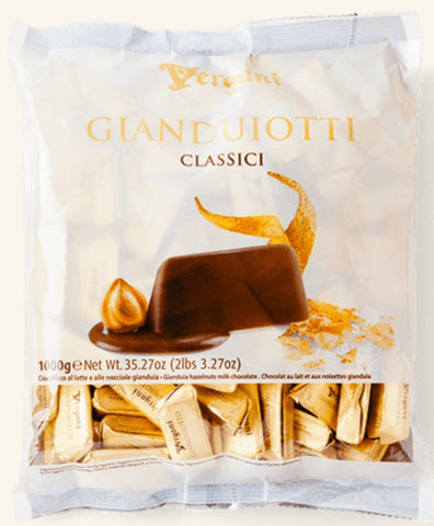 Chocolate - Vergani Gianduiotti 1kg