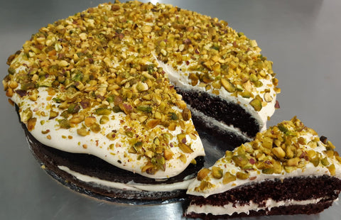 Dessert - Pistachio & Mascarpone cream Chocolate & Coffee cake - PHONE TO ORDER