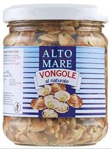 Vongole - Clams in natural juice