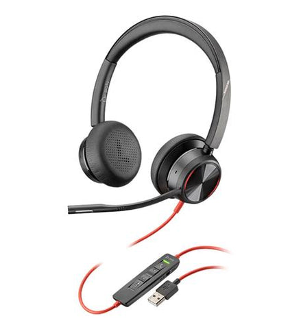 Poly Blackwire 8225 Headset, USB-A