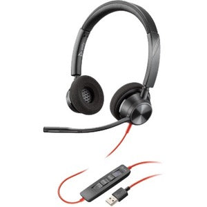 Poly Blackwire 3320 Headset, USB-A