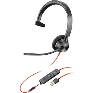 Poly Blackwire 3315 Headset, USB-A, 3.5mm