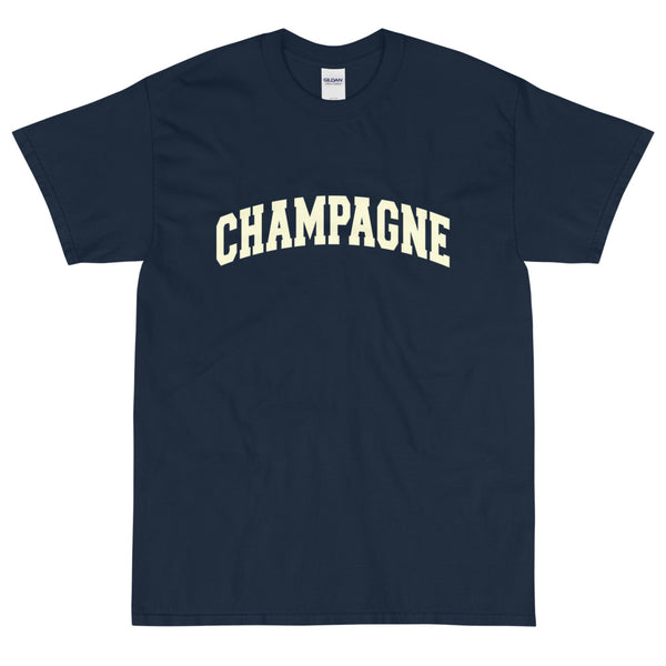 Champagne Short Sleeve T-Shirt + Colours