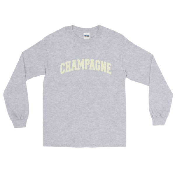 Champagne Long Sleeve Shirt + Colours