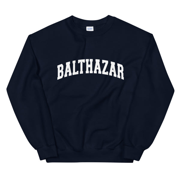 Balthazar Sweatshirt White Text