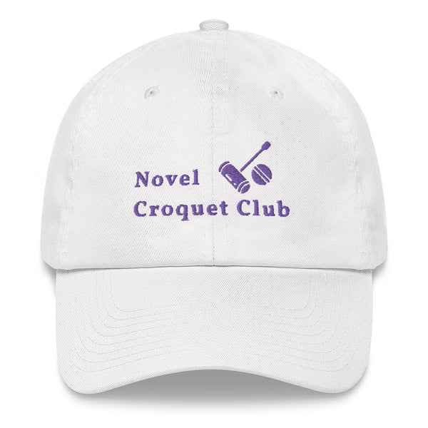 Novel Croquet Club Cap