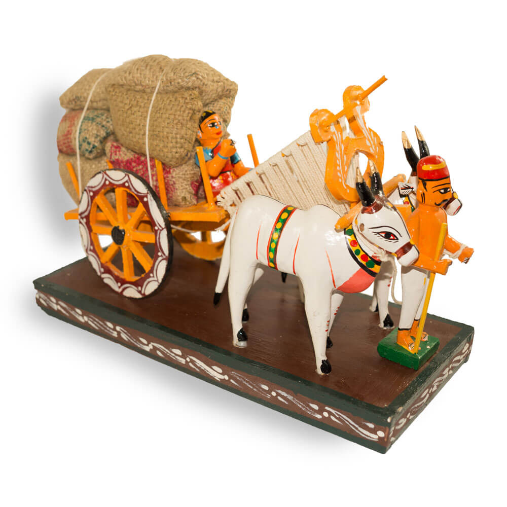 Kondapally Bullock Cart Small