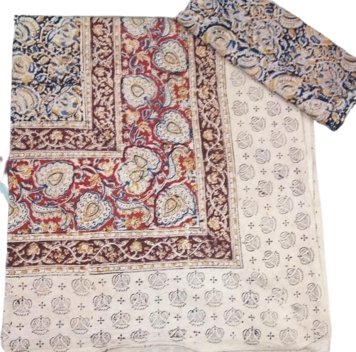 Kalamkari Bed Sheet 90x108in (with pillow covers)