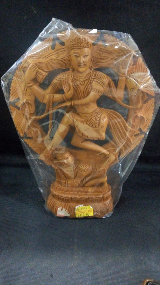 White Wood Natraj 10in