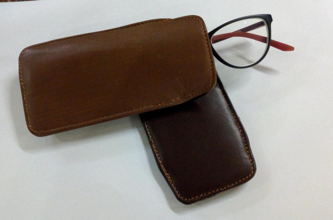 Leather Spectacles Pouch
