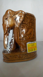 Sandal Wood - Elephant 4in