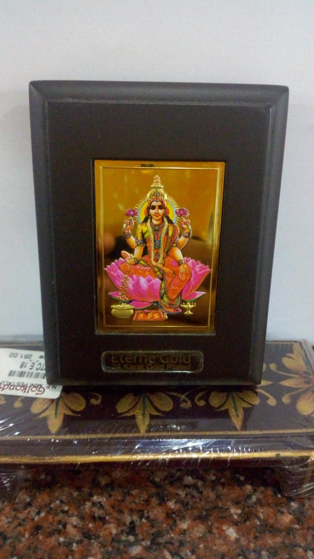Divinity (24ct Gold Plated) - Lakshmi Devi