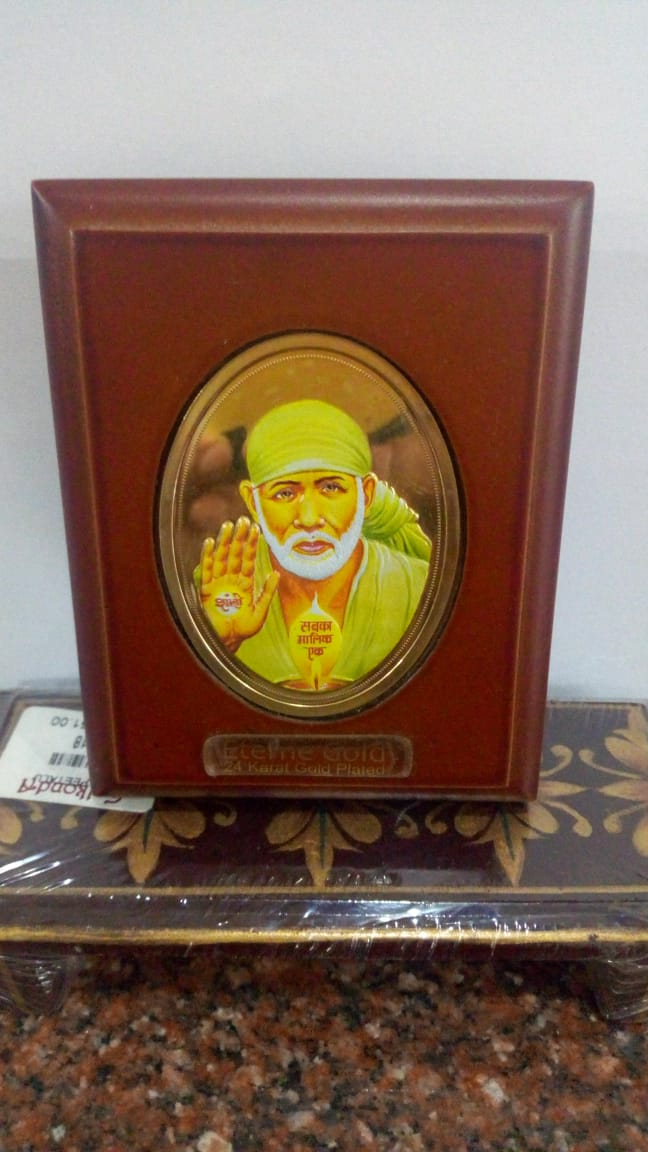 Divinity (24ct Gold Plated) - Sai Baba