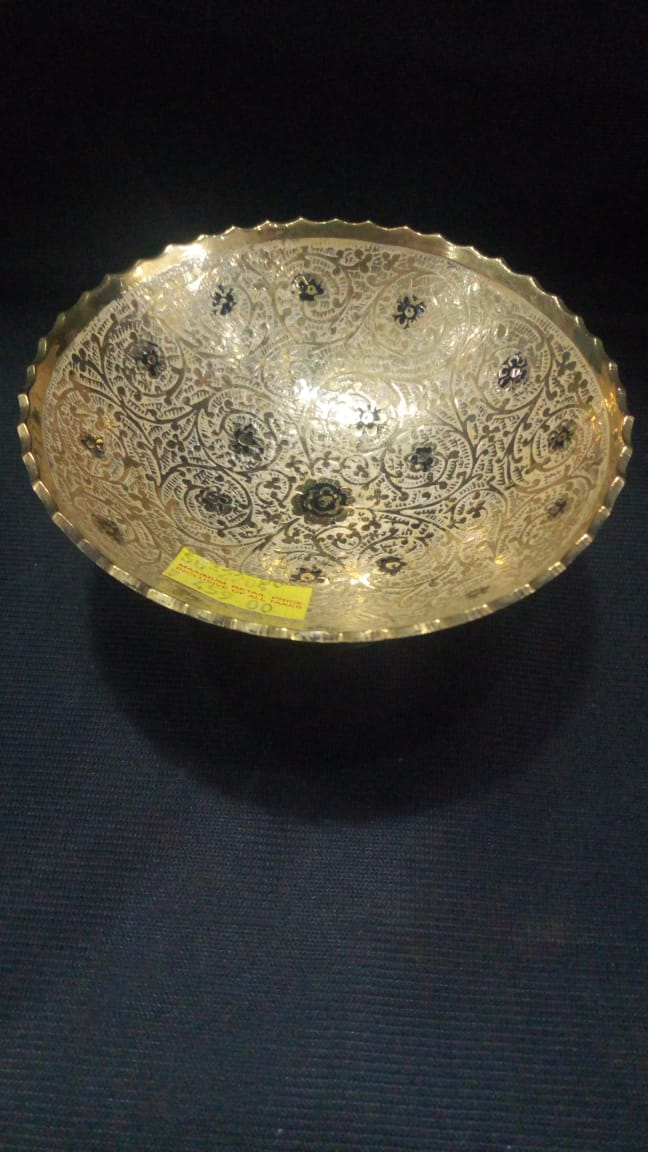 Moradabad Brass - Bowl 4.5in