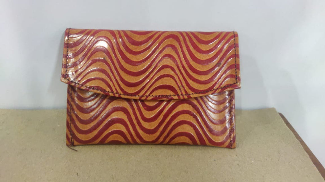 Santiniketan Leather Ladies Hand Mini Purse