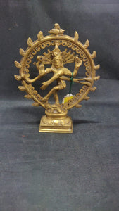 Brass Natraj 6.5in