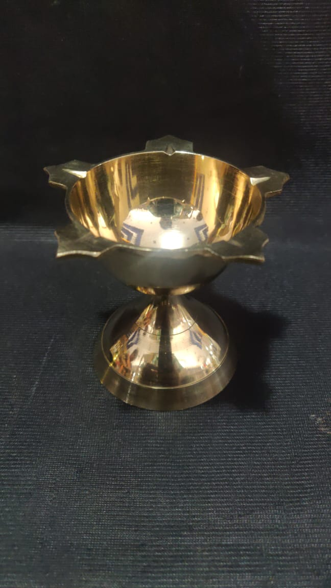 Brass Deepam 3in
