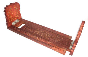 Saharanpur Wood Carving Book Ends